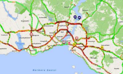 Son dakika… İstanbul'da trafik felç