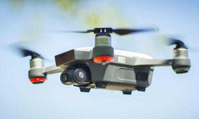 Yangında mahsur kalanları kurtarmak için drone yaptılar