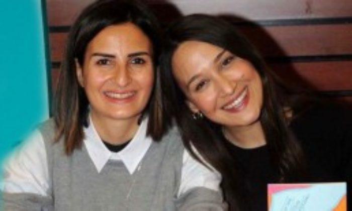 Ömür Sabuncuoğlu ve Gupse Özay'dan İmza Günü