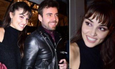 Hande Erçel, Sevgilisi Murat Dalkılıç'a Destek Oldu