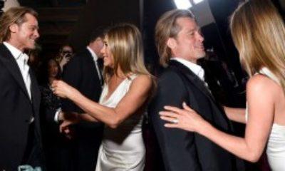 Jennifer Aniston ile Brad Pitt Yıllar Sonra Aynı Karede