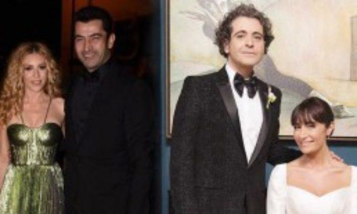 Kenan İmirzalıoğlu ve Sinem Kobal, Sıla – Hazer Amani Düğününe Katıldı