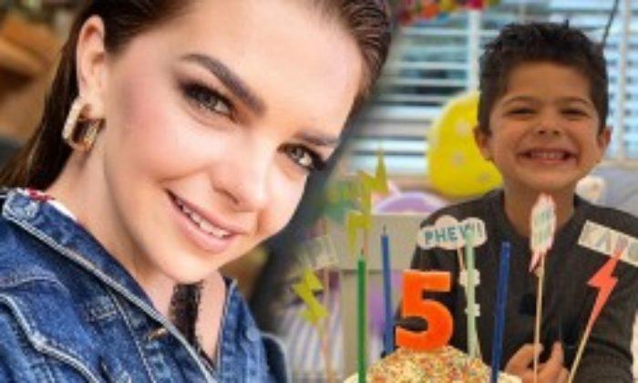 Pelin Karahan'dan Oğlu Ali Demir'e Sürpriz Doğum Günü Partisi