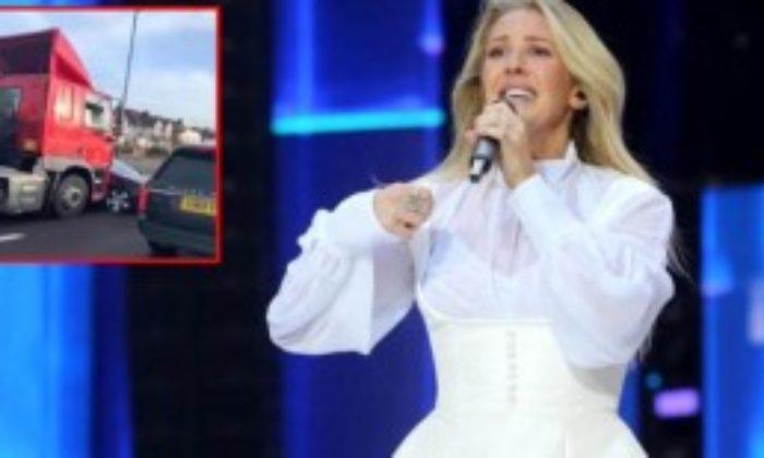 Ünlü Şarkıcı Ellie Goulding, Aracı Sürüklenen Adamı Kurtardı