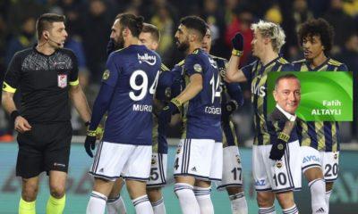 """""""Alanyaspor maçındaki tüm kararlar doğru"""""""