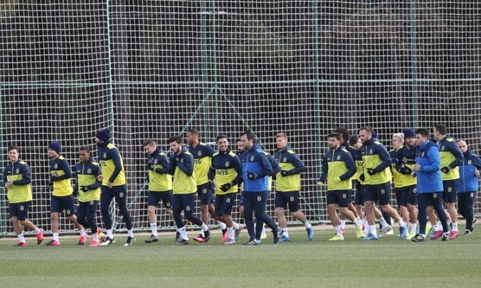 Fenerbahçe Alper'siz çalıştı