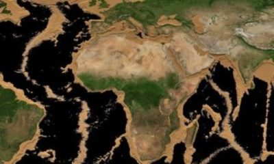 NASA, okyanuslar kuruduğunda Dünya'nın nasıl görüneceğini gösterdi Okyanuslar kuruduğunda Dünya böyle görünecek – VİDEO