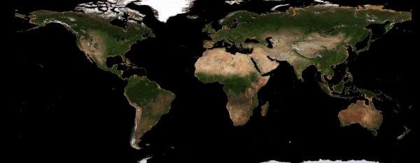 NASA, okyanuslar kuruduğunda Dünya'nın nasıl görüneceğini gösterdi Okyanuslar kuruduğunda Dünya böyle görünecek - VİDEO