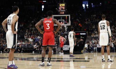 NBA'de tarihe geçen saygı duruşu!