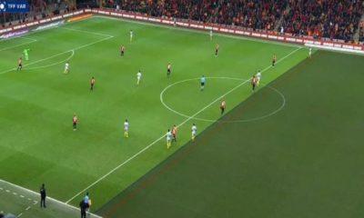 Önce penaltı sonra ofsayt!