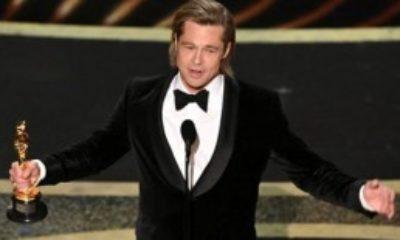 Oscar Ödülü Alan Brad Pitt, Kürsüde Trump'a Göndermelerde Bulundu