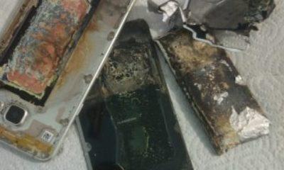 Samsung Galaxy A7 şarj esnasında patladı