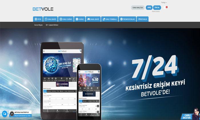 Betvole Online Spor Bahisleri ve Casino Bürosu