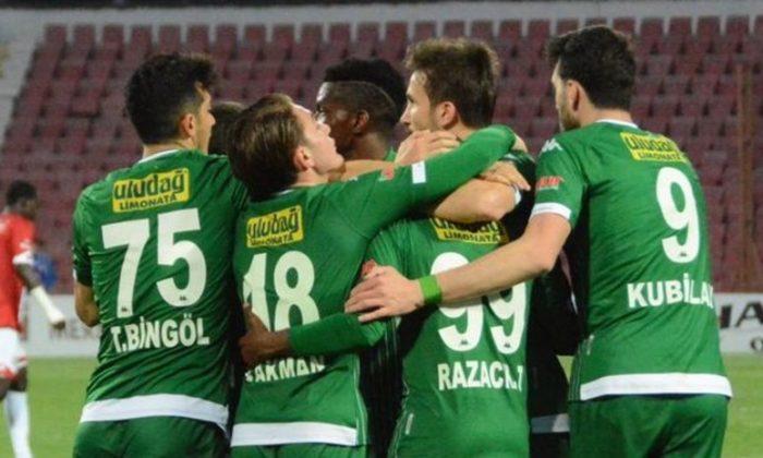 Bursaspor zirveye yaklaştı!
