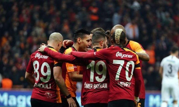 Galatasaray rekorunu egale etme peşinde