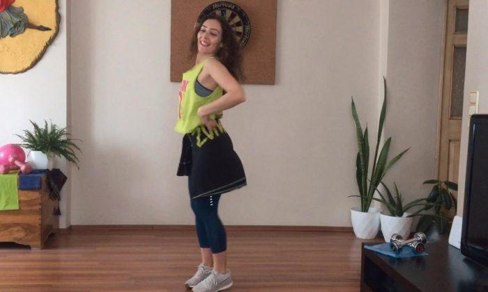 Karantina günlerinde evde spor – 30 Mart zumba