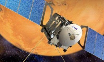 Mars Express'ten Mars'ın yüzeyini gösteren yeni görüntüler