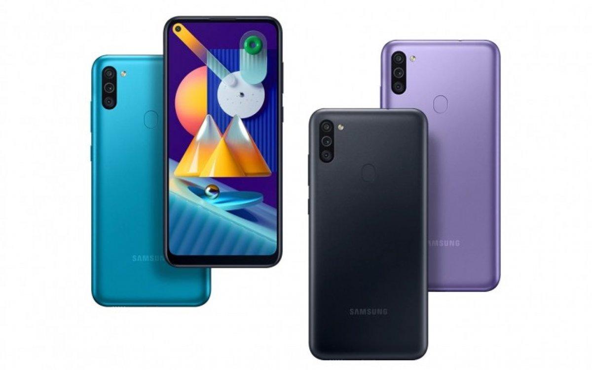 Samsung'un giriş seviyesi telefonu Galaxy M11 tanıtıldı