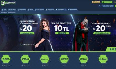 Betgaranti Canlı Bahis Sitesi ve Casino Servisleri