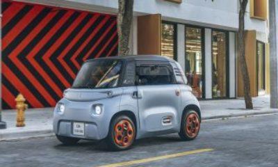 Citroen, 7 bin euroluk yeni elektrikli aracını tanıttı