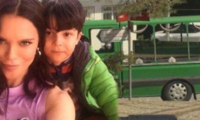 Ebru Şallı ve Harun Tan'ın Hayatını Kaybeden Oğlu Pars Defnedildi