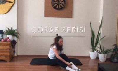 Karantina günlerinde evde spor – 3 Nisan çorapla antrenman
