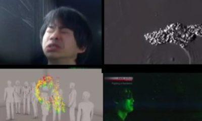 Koronavirüsün nasıl bulaştığını gösteren görüntüler Virüslerin ağız yoluyla nasıl bulaştığını gösteren çalışma – VİDEO