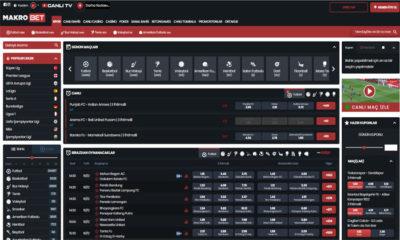Makrobet Online Maç Bahis Sitesi ve Casino Oyunları
