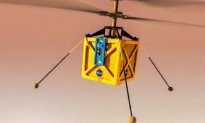 Mars'a gidecek helikopter, uzay aracına bağlandı NASA'nın Mars'a göndereceği mini helikopter – VİDEO