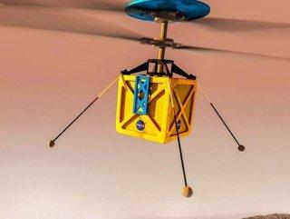Mars'a gidecek helikopter, uzay aracına bağlandı NASA'nın Mars'a göndereceği mini helikopter - VİDEO