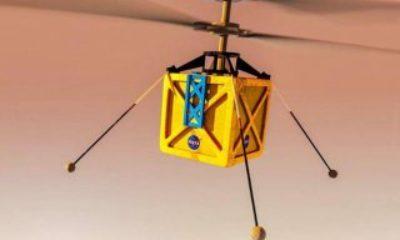 NASA'nın Mars helikopteri son kez test edildi NASA'nın Mars'a göndereceği mini helikopter – VİDEO