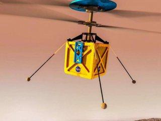 NASA'nın Mars helikopteri son kez test edildi NASA'nın Mars'a göndereceği mini helikopter - VİDEO