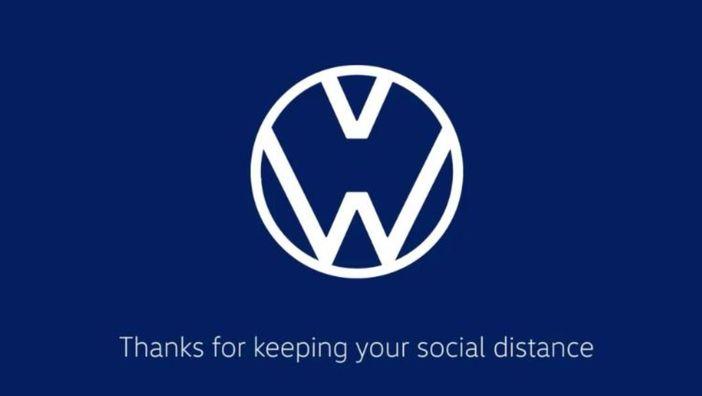 Sosyal mesafe logoları değiştirdi