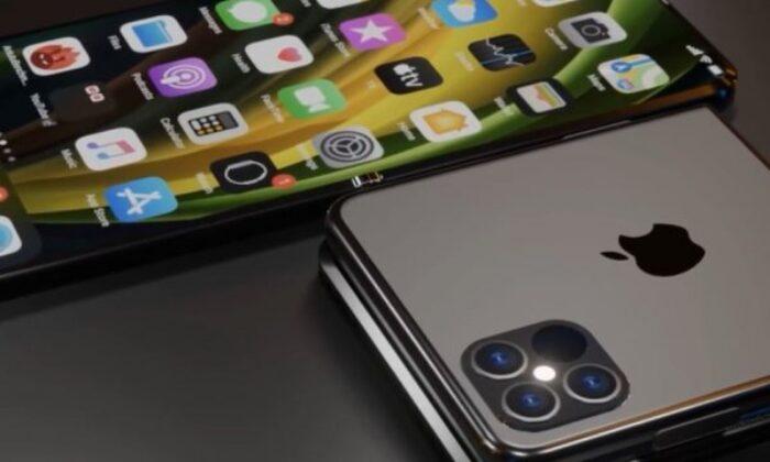 Katlanabilir yeni iPhone konsepti: iPhone 12 Flip