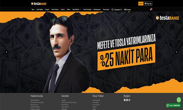 Teslabahis Spor Bahisleri ve Casino Bürosu