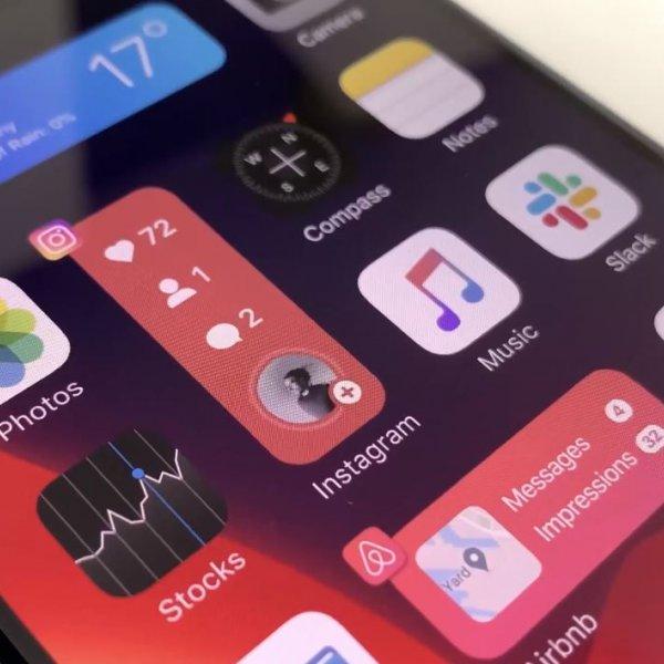iPhone'lara widget yapısı getiren yeni iOS 14 konsepti