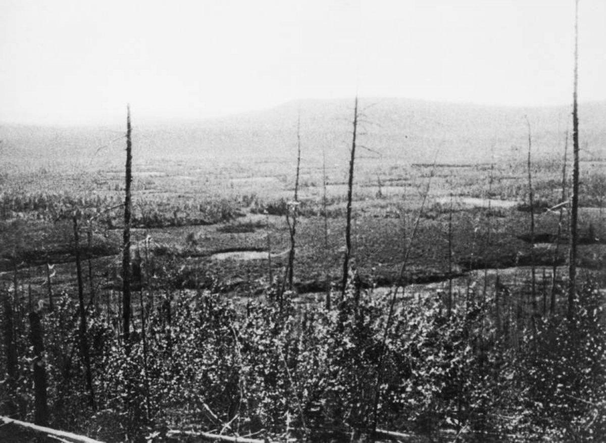 Tarihin en gizemli patlaması: Tunguska Olayı