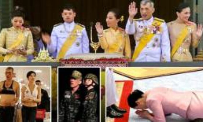 Tayland Kralı Cariyeleri, Tayland Kralı Haremi ve Zevk Oteli Görenleri Şaşırtıyor