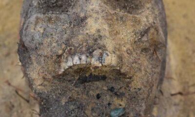 Ağzında sikke bulunan onlarca çocuk iskeleti ortaya çıktı