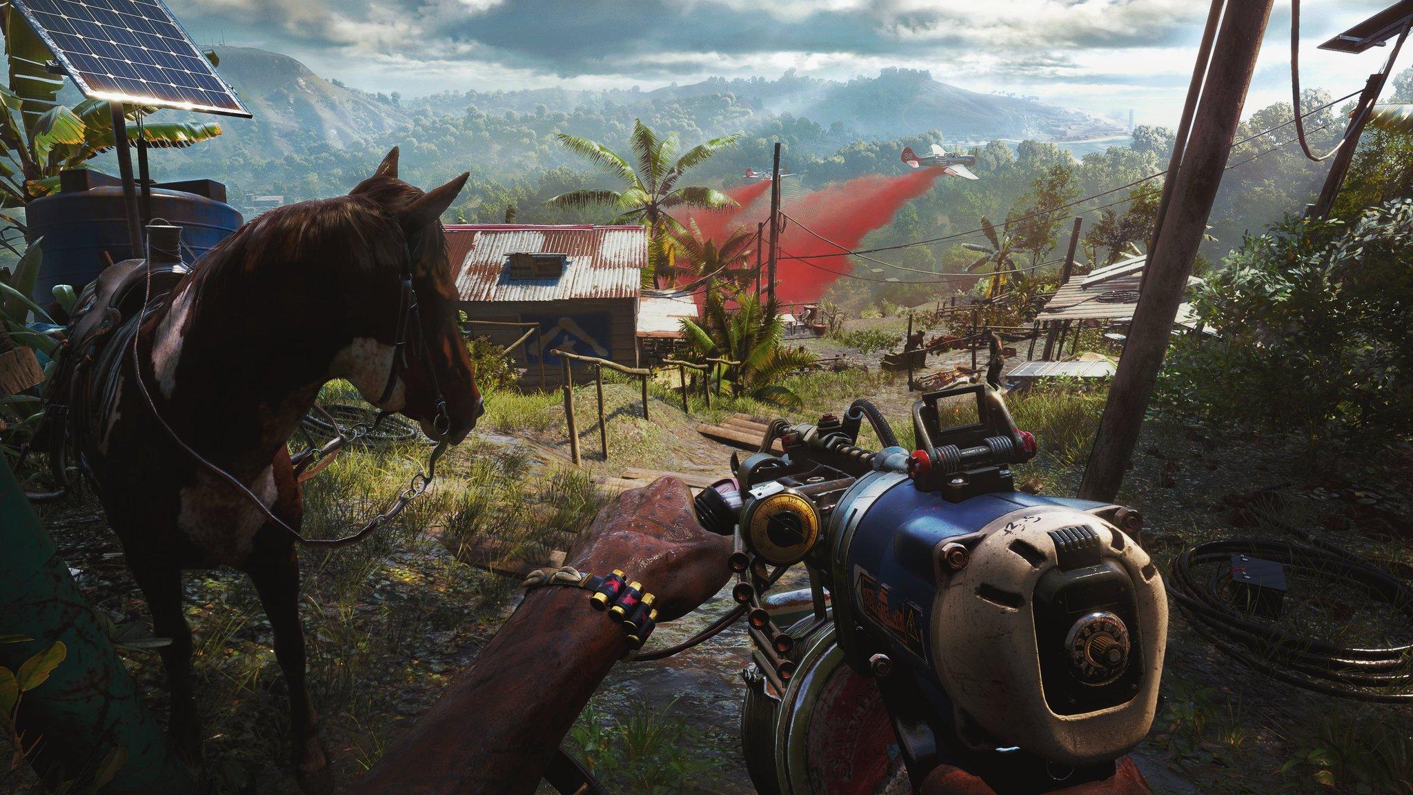 Far Cry 6'nın grafik kalitesini gösteren ekran görselleri