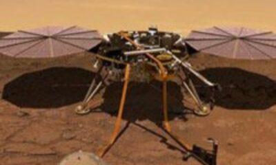 NASA aracının delici ucu Mars yüzeyine sıkıştı