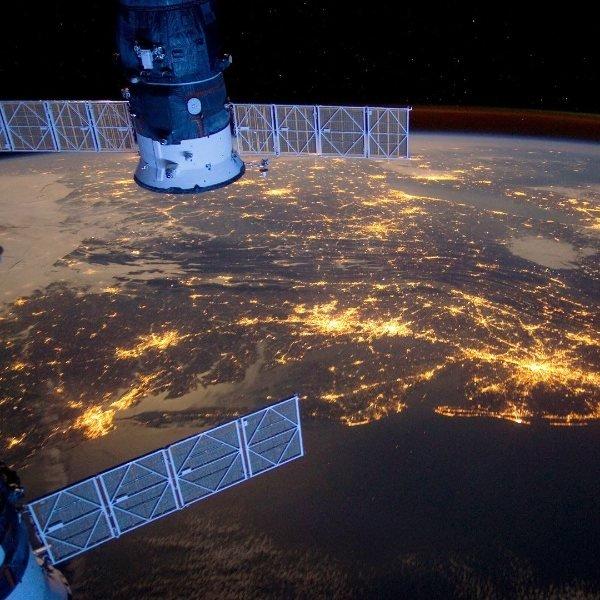 Uzay istasyonundan çekilen etkileyici Dünya fotoğrafları