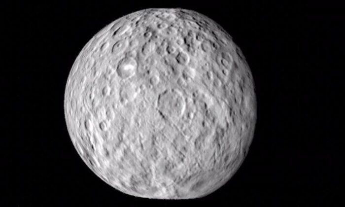 Cüce gezegen Ceres'te tuzlu su rezervi bulundu