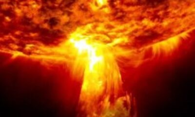 Güneş patlaması nedir