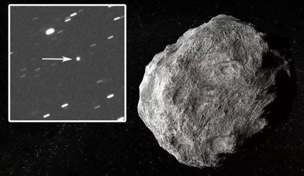 NASA: Bir göktaşı ilk defa Dünya'nın bu kadar yakınından geçti
