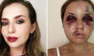 Sunucu Anastasia Lugova, Oğlunun Gözü Önünde Darp Edildi