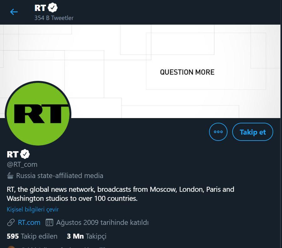 Twitter, Türkiye de devlete bağlı hesapları etiketleyecek #2