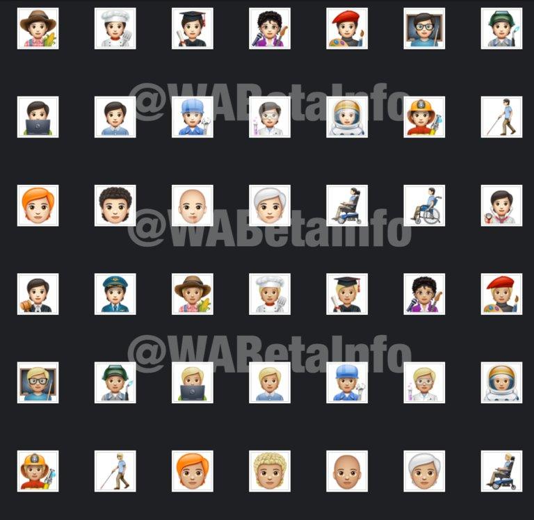 WhatsApp'ın beta sürümüne 138 yeni emoji eklendi
