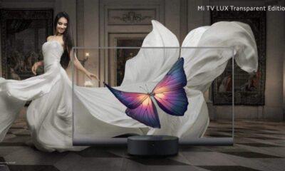 Xiaomi'nin tamamen şeffaf televizyonu Mi Tv Lux tanıtıldı