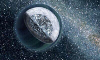 Bilim insanlarına göre bazı gezegenler elmastan oluşuyor